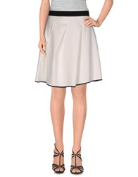 Atos Lombardini Skirts Mini Skirts Women White