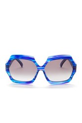 Wildfox Couture Women's Riviera Square Sunglasses Blue