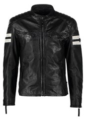 Gipsy Remmi Leather Jacket Schwarz Black
