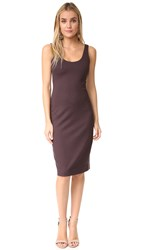 L'agence Roxanne Perfect Tank Dress Wine