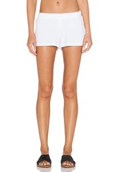 Michael Lauren Eddy Sweatshort White