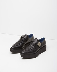 Proenza Schouler Pointy Toe Platform Oxford Black