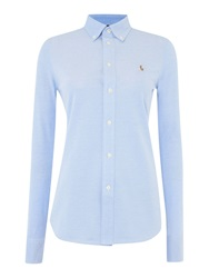 Polo Ralph Lauren Heidi Oxford Stretch Shirt Blue