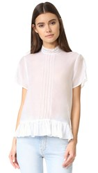 Matin Brittany Lace Top White