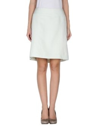 Gigue Knee Length Skirts Ivory