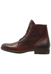Redskins Tozzi Laceup Boots Chataigne Brown