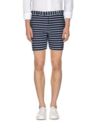French Connection Trousers Bermuda Shorts Men Dark Blue