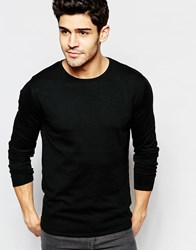 Selected Homme Crew Neck Knitted Sweater Black