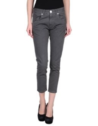 Pinko Black Casual Pants Grey