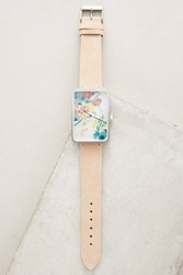 Anthropologie Multicolor Floral Print Watch Assorted
