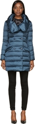 Colmar Navy Quilted Down Long Coat