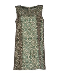 Vanda Catucci Short Dresses Dark Green
