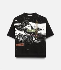Christopher Kane Car Crash T Shirt Black