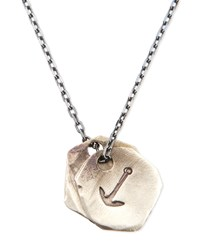 Anchor Medallion Necklace Miansai Silver