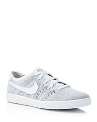 Nike Tennis Classic Ultra Flyknit Lace Up Sneakers Grey