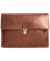 Cole Haan Smooth Leather Large Portfolio Bag Luggage