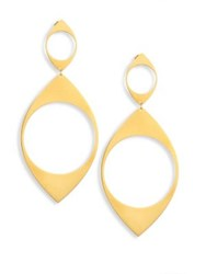 Jennifer Zeuner Jewelry Presley Drop Earrings Gold