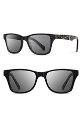 Shwood Women's 'Canby Ace Feather' 54Mm Polarized Sunglasses