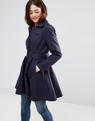 Sugarhill Boutique Kerry Mac Jacket Navy