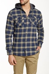 Globe Hooded Alford Shirt Multi