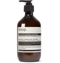 Aesop Resurrection Aromatique Hand Wash 500Ml Green