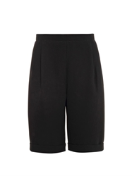 Mcq By Alexander Mcqueen Pleat Front Long Tuxedo Shorts