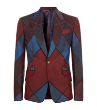 Vivienne Westwood Diamond Argyle Suit Jacket Male