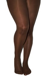 Plus Size Women's Nubian Skin 'Curve' 15 Denier Tights Berry