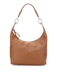 Le Foulonne Small Hobo Bag Cognac Red Longchamp