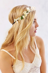 Urban Outfitters Assorted Flower Crown Headwrap Neutral