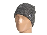 Neff Fold Heather Beanie Black Grey Beanies