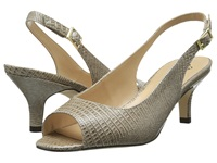 J. Renee Classie Taupe Women's Sling Back Shoes