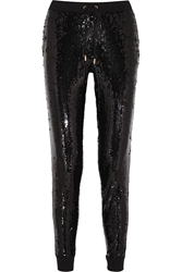 Michael Michael Kors Sequined Jersey Track Pants