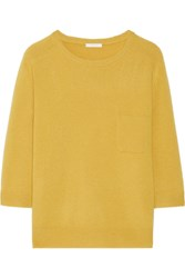 Chloe Iconic Cashmere Sweater Mustard