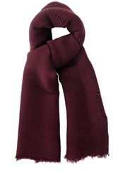 Oasis Paris Crinkle Plain Burgundy