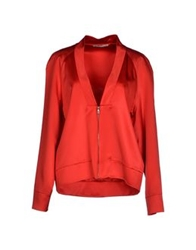 Ermanno Scervino Jackets Red