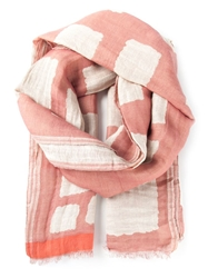 Humanoid 'Waaghals' Scarf Pink And Purple