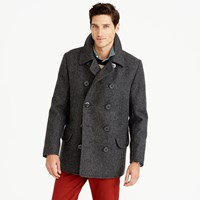 J.Crew Dock Peacoat With Thinsulate