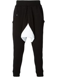 Ejxiii Drop Crotch Track Trousers