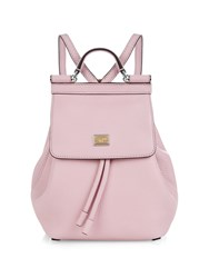 Dolce And Gabbana Sicily Micro Leather Backpack