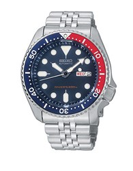 Seiko Mens Silvertone Diver Watch