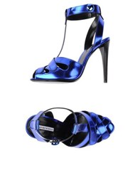 Emporio Armani Footwear Sandals Women Blue
