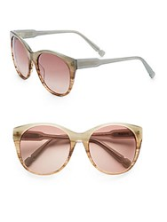 Jason Wu Petra 56Mm Wayfarer Sunglasses Blue Brown