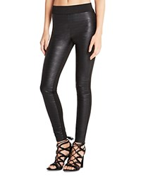 Bcbgeneration Faux Leather Leggings Black