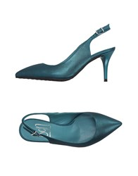 Sgn Giancarlo Paoli Footwear Courts Women Deep Jade