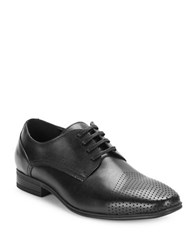 Kenneth Cole Reaction Minute To Spare Leather Oxfords Black
