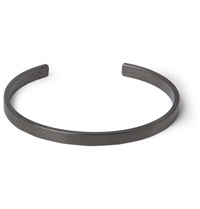 Le Gramme Le 15 Brushed Matte Ruthenium Cuff Black