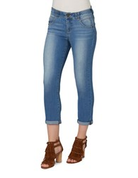 Democracy Ab Solution Cropped Jeans Light Blue