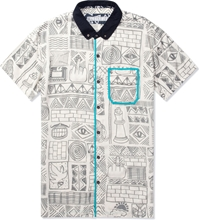 Volklore White Dystopic Shirt