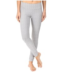 Prana Misty Legging Silver Jacquard Women's Workout
